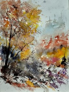 watercolor 218022, painting by artist ledent pol