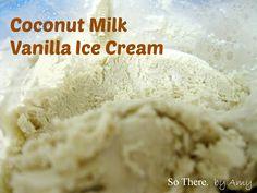So There.: Coconut Milk Vanilla Ice Cream