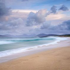 Love this view of Scarista beach on the Isle of Harris, Outer Hebrides, Scotland by Dudley Williams Isle Of Harris, Outer Hebrides, Beautiful Beaches, Beautiful Landscapes, Beautiful World, Landscape Photography, Travel Photography, Beach Photography, Costa