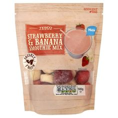 Tesco Strawberry And Banana Smoothie 500G - Groceries - Tesco Groceries