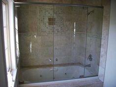 Jacuzzi tub/shower combo