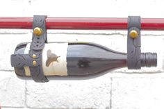Everyone likes to recycle! An Oopsmark bicycle wine rack made for you.