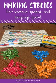 Working with mixed speech groups?  This magnet set is a great way to address multiple goals at one time!  Students can make sentences or stories and work on articulation sounds, syntax, vocabulary, and more!