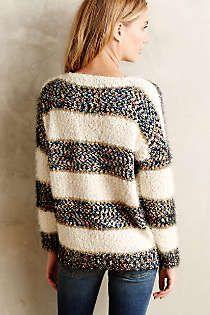 Anthropologie - Confetti Striped Pullover