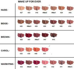 Make Up For Ever Rouge Artist Intense Lipstick for Fall 2010 – Photos and Promo Swatches