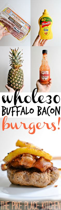 the BEST whole30 bur