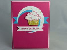 Happy birthday card su everyday enchantment cards i have made stampin up handmade happy birthday greeting card cupcake mom mother teenager teen daughter granddaughter grandmother sprinkles of life bookmarktalkfo Image collections