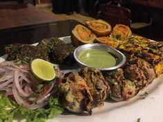 Vegetarian Tandoori Platter.  Cost- INR600 (approx) Rating -  Serves-2 #tandoori  #vegetarian #glutenfree #glutenfreevegan #glutenfreelife #glutefreeliving #instapost #instaclick #delhigram #foodgram #foodie #picoftheday #delicious by dispensegluten