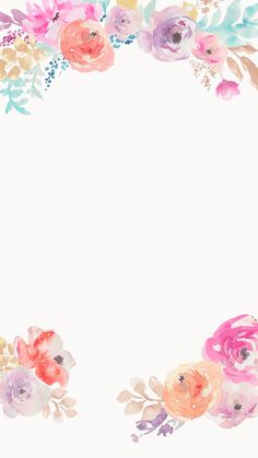 pink and purple watercolor floral iphone background Flor Iphone Wallpaper, Wallpaper Flower, Flower Backgrounds, Nature Wallpaper, Wallpaper Backgrounds, Trendy Wallpaper, Backgrounds For Iphone, Cell Phone Wallpapers, Iphone Homescreen Wallpaper