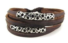 #Circlet #Design Leather Zen Bracelet for Men and Women, Adjustable, in Gift #Box       I think it's great       http://amzn.to/HFBzho
