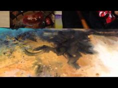 Monique Johnson - Creating an Abstract Painting - YouTube