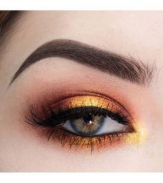 Le Sunset Makeup, la tendance de l'été 2018