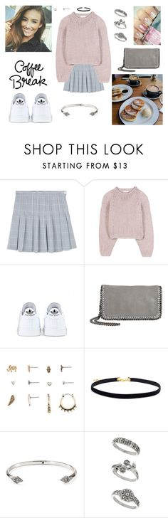 """""""30/04/17"""" by milena-serranista ❤ liked on Polyvore featuring Chloé, adidas, STELLA McCARTNEY, Aéropostale, House of Harlow 1960 and Miss Selfridge"""