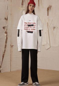 Ader Error FW16. menswear mnswr mens style mens fashion fashion style adererror campaign lookbook
