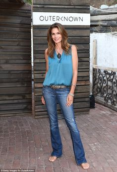 Cindy Crawford speaks out for first time about 'unretouched' photo #dailymail
