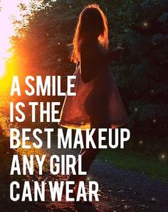 So smile ladies!!!! People smile when we smile at them:)