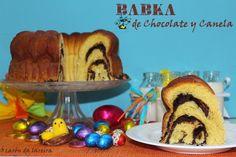 ó carón da Lareira: Babka de chocolate y canela