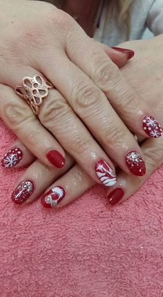 VslNails: christmas season! Seasons, Nails, Christmas, Beauty, Jewelry, Finger Nails, Xmas, Jewlery, Ongles