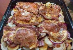 """Takiej karkówki jeszcze nie jedliście – """"Cygan w Rondlu"""" zachwyci nawet . Hungarian Cuisine, Hungarian Recipes, Easy Cooking, Cooking Recipes, Kebab, Czech Recipes, Pork Dishes, Food Design, Pork Recipes"""