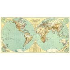 National geographic physical world map for nursery baby love national geographic physical world map for nursery baby love pinterest wall maps gumiabroncs Choice Image