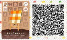 AC QR Code: Orange Tartan