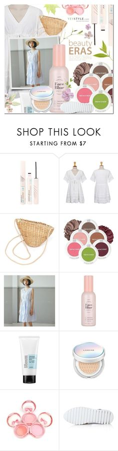 """Korean Beauty Kit"" by pankh ❤ liked on Polyvore featuring beauty, Innisfree, migunstyle, The Face Shop, Etude House, Cosrx and Laneige"