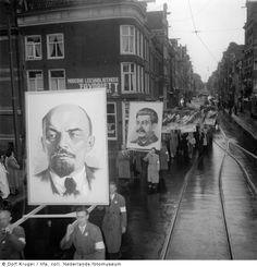 Dolf Kruger - Dutch Communist Party Parade, Amsterdam 1952