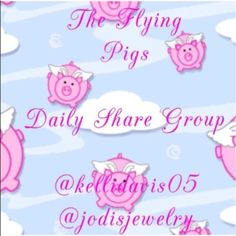 Sun 5/8 - Sat 5/15 Share Group Assignment Please share ten items from each closet in the assigned group. Thank you all!! The Flying Pigs Other
