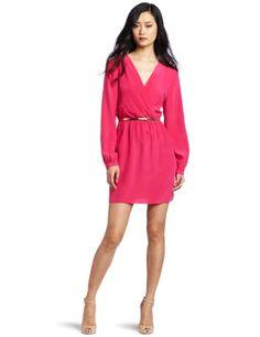 Twelfth St. by Cynthia Vincent Women`s Long Sleeve Mini Dress