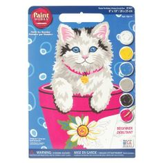 Dimensions Needlecrafts Paintworks Paint By Number, Flower Pot Kitten by Dimensions, http://www.amazon.ca/dp/B001FEA5C8/ref=cm_sw_r_pi_dp_s4Cotb1JR90Q7