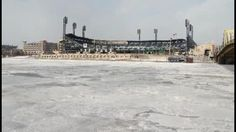 PNC Park from across the frozen Allegheny River http://pittsburgh.cbslocal.com/2014/01/07/city-residents-dealing-with-bitter-cold/