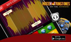Ringtone Maker is one of the best apps in play store for making ringtones from songs.