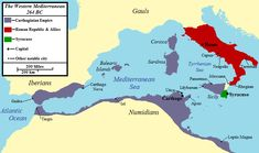 How did the Punic wars start?