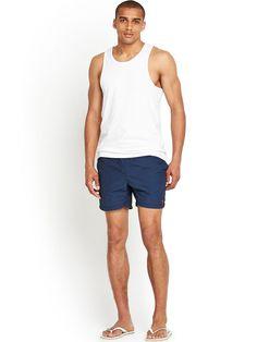 Sale + free ship! Menscave7 GANT mens swimsuit small blue #Gant #Trunks