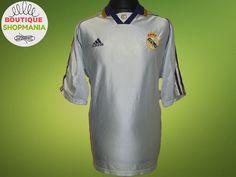 REAL MADRID HOME 1998-2000 (XL) ADIDAS WOT Sponsor Football Shirt Jersey Maglia #Adidas #RealMadrid
