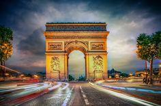 500px / Lights Of Paris-3 by Alex Hill