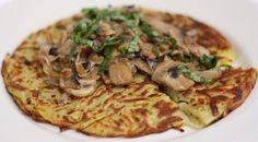 #Potato Rosti - a Swiss dish that is like a potato pancake. Perfect for the cooler weather as a #sidedish or #dinner