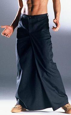 Jupe masculine Anders Landigers, modèle London version longue. Anders Landigers London long menskirt. Mots-clés : Jupe pour homme, Jupe masculine.