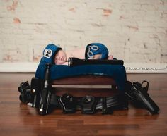 Newborn Police Officer Hat and Diaper Cover by 1beautifulhandmade, $41.99