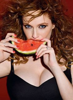 Christina Hendricks Hot Photos Esquire Russia Magazine June 2010