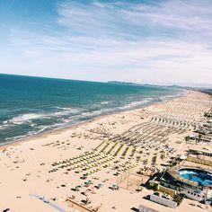 Rimini Beach, Adriatic Sea, Italy