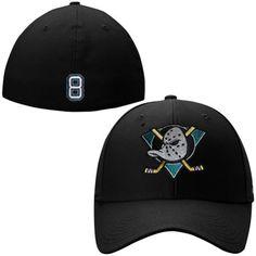 Mens Anaheim Ducks Teemu Selanne Black For8ver Teemu Mighty Ducks Flex Hat