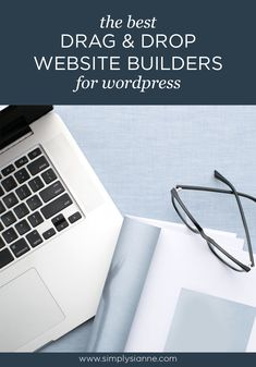 Sharing the best wordpress drag and drop website builder to help you design a beautiful website easily for your creative business. Web Design Tips, Design Strategy, Website Builders, Brand Strategist, Custom Website, Building A Website, Business Website, Blog Tips, Creative Business