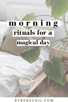 Morning Rituals For A Magical Day (Self Care, Self Love) - Morning rituals and habits are for succesful people. Implement these morning rituals and morning ro - Healthy Morning Routine, Morning Habits, Morning Routines, Daily Routines, Miracle Morning, Morning Ritual, Evening Routine, Night Routine, Wellness Tips