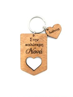 Label Heart Keychain Product Page, Label, Personalized Items, Heart, Gifts, Presents, Gifs