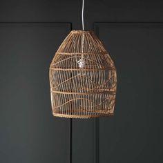 Zolan Rattan Pendant Shade | Chandeliers & Ceiling Lights | Graham & Green