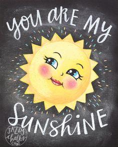 u ar my sunshine Good Day Sunshine, You Are My Sunshine, Hello Sunshine, Smileys, You Make Me Happy, Make Me Smile, Moon Face, Sun Moon Stars, Sun Art
