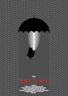 Blade Runner - movie poster - Daniel Cullen Leydon