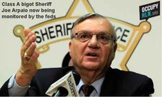 Sheriff Joe isn't a bigot -- he just SEEMS like one. That's why he's being investigated by the DOJ and monitored by the feds for profiling Latinos (among numerous other infractions).