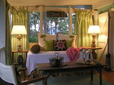 the perfect sleeping porch  Jane Coslick Designs